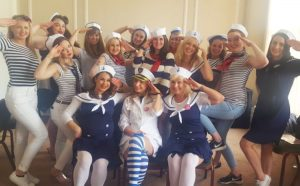 Hen party dance classes for your hen do weekend Madame Peaches Hen Parties